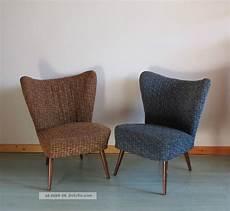 2 Cocktailsessel 50er 60er Jahre Clubsessel Sessel