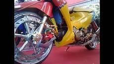 Variasi Motor Supra X 125 by Modifikasi Honda Supra X 125 Thailook Ceper Variasi
