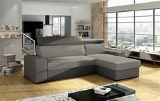couch mit ottomane ecksofa sofa marios mit schlaffunktion grau ottomane