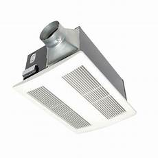Bathroom Heater Only by Panasonic Whisperwarm 110 Cfm Ceiling Exhaust Bath Fan