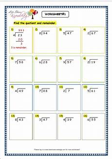 grade 3 math division with remainders grade 3 maths worksheets division 6 4 division with