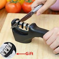 Sharpening Ceramic Kitchen Knives Kitchen Professional Knife Sharpener Stainless Steel