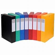 Exacompta Boites De Classement Cartobox Dos 60 Mm Assortis