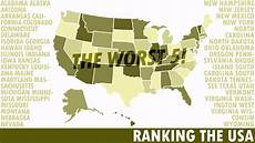 the worst 50 states in america the final five