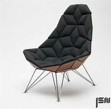 jsn design assembles shaped tiles into chair