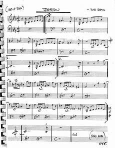 how to arrange a jazz standard hans hansen musical u