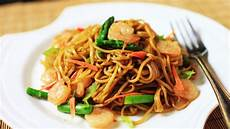Chow With Soy Sauce Stir Fried Noodles