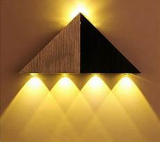 2019 super bright 5w aluminum triangle led wall light l modern home lighting indoor outdoor