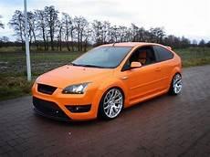 Ford Focus Mk2 St - ford focus st mk2 electric orange big rims airtec