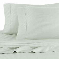 buy eucalyptus origins striped 450 thread count california king sheet in mint from bed bath