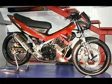 Satria Fu Modif Road Race by Modifikasi Motor Suzuki Satria Fu Road Race Keren