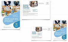 post card template for publisher employment agency postcard template word publisher
