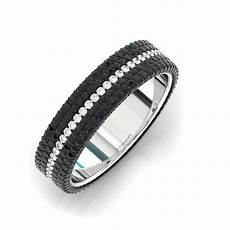 a mens black and white diamond ring from bez ambar