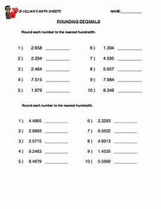 rounding decimals worksheet with answers rounding decimals hundredths worksheet with answer key tpt