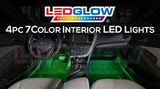 glowing interior ledglow 7 color led interior lights
