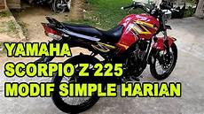 R Modif Simple by Modif Simple Minimalis Yamaha Scorpio Z 225 Bonapaint