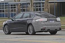 2017 ford fusion mondeo facelift spied during city