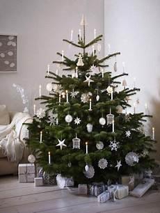 Weihnachtsbaum Rot Weiß Geschmückt - weihnachtsbaum schm 252 cken deko ideen