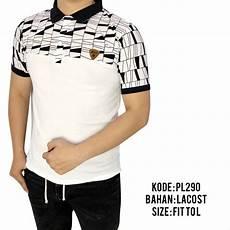 jual baju polo pria cowok laki laki kaos kerah motif distro premium 144 di lapak dtas store