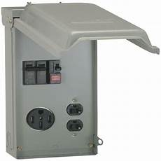 Midwest Electric Products 70 Temporary Power Box With