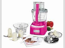 Cuisinart Elite Food Processor, 12 cup Metallic Pink