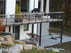 stahlkonstruktion terrasse kosten terrasse aus stahlkonstruktion