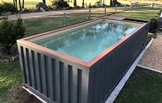 Container Als Pool - the diy shipping container swimming pool buy a shipping