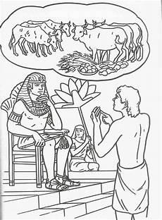 josef beim pharao bibel malvorlagen bibel f 252 r kinder