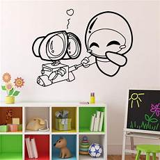 Vinyl Home Decor Ideas by Wall E And Wall Decal Robots Vinyl Sticker