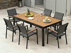 Table De Jardin Imitation Bois