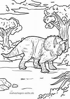 Malvorlagen Dinosaurier Triceratops Malvorlage Triceratops Malvorlagen Ausmalbilder Kinder