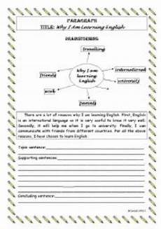 writing a paragraph level 2 esl worksheet by mgabriel