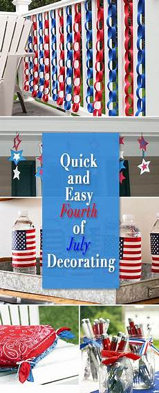 Decorating Ideas For July Fourth by And Easy Fourth Of July Decorating My