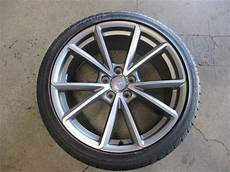 one 2015 2016 audi s4 factory 19 wheel tire oem 58967 8k0601025ct continental socal wheels