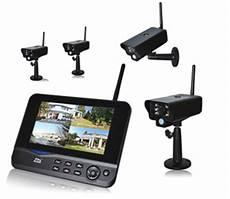 funk überwachungskamera mit monitor 4 kanal funk 252 berwachung 4 funk 220 berwachungskamera im