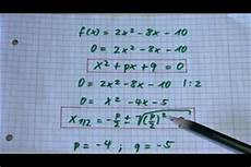 nullstelle berechnen rechner nullstellen berechnen schriftlich oder mit