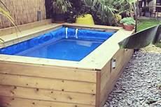 pool selber bauen how to make a hay bale swimming pool simplemost
