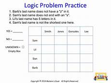 logic puzzle worksheets 5th grade 10845 mrs l s leveled learning diy logic puzzles for math class