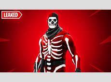 New RED SKULL TROOPER SKIN in Fortnite..   YouTube