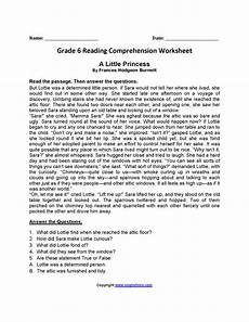 worksheets for 6th grade 18179 reading comprehension worksheets 5th grade choice for printable to math worksheet for