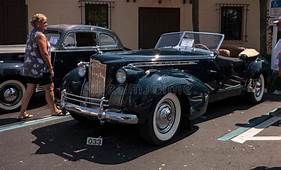 1940 Packard 120 Roadster Convertible Editorial Image