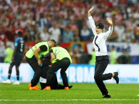 World Cup Final Pitch Invader
