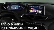 radio media reconnaissance vocale suv peugeot 3008