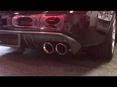 2012 audi s4 awe touring exhaust w resonated downpipes youtube