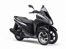 yamaha tricity a three wheel leaning scooter with cvt