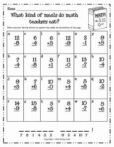 timed math addition worksheets 1st grade just because grade a la carte school math