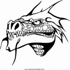 Malvorlagen Drachen Quest Drachenkopfe 2 Gratis Malvorlage In Drachen Fantasie