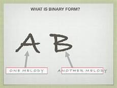 binary and ternary form youtube