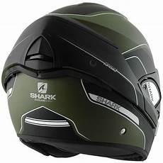 Shark Evoline Series 3 Arona Matt Green Black Motorbike