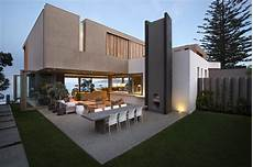 Wooden Facade Modern House Design By Saota Architecture